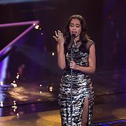 NLD/Hilversum/20151211 - 2e Liveshow The Voice of Holland, TVOH, Romy Monteiro