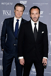 November 2, 2016 - New York, New York, USA - Colin Firth and Tom Ford attend the WSJ Magazine Innovator Awards 2016 at Museum of Modern Art on November 2, 2016 in New York City. (Credit Image: © Future-Image via ZUMA Press)