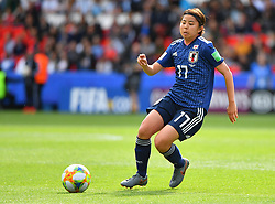 Miura during the FIFA Women's World Cup group D first round soccer match between Argentina and Japan at Parc des Princes Stadium in Paris, France on June 10, 2019. The FIFA Women's World Cup France 2019 will take place in France from 7 June until 7 July 2019. Photo by Christian Liewig/ABACAPRESS.COM