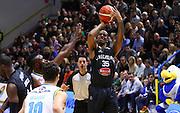 Cremona 18/10/2015 - Basket Campionato Italiano Lega A 2015-16 - Vanoli Cremona-Pasta Reggia Caserta<br /> nella foto: El-Amin<br /> Foto Ciamillo