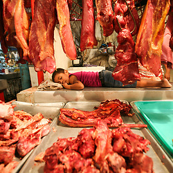 The Huembes market, Managua