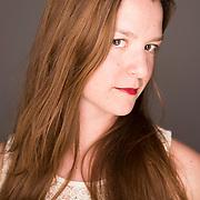 headshot portrait of artist photographer liza voll