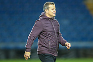 Forest Green Rovers manager, Mark Cooper at the end of the match during the The FA Cup 1st round match between Oxford United and Forest Green Rovers at the Kassam Stadium, Oxford, England on 10 November 2018.
