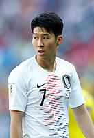 Heungmin Son (Korea Republic)<br /> Nizhny Novgorod 16-06-2018 Football FIFA World Cup Russia  2018 <br /> Sweden - South Korea / Svezia - Corea del Sud <br /> Foto Matteo Ciambelli/Insidefoto