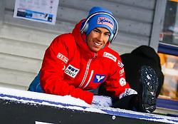 11.12.2016, Lysgards Schanze, Lillehammer, NOR, FIS Weltcup Ski Sprung, Lillehammer, im Bild Stefan Kraft (AUT) // Stefan Kraft of Austria during Mens Skijumping of FIS Skijumping World Cup at the Lysgards Schanze in Lillehammer, Norway on 2016/12/11. EXPA Pictures © 2016, PhotoCredit: EXPA/ Tadeusz Mieczynski