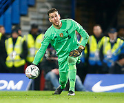 Liverpool's Adrian in action during the English FA Cup fifth round soccer match between Chelsea and Liverpool at Stanford Bridge Stadium, Wednesday, March 3, 2020, in London, United Kingdom. (ESPA-Images/Image of Sport)