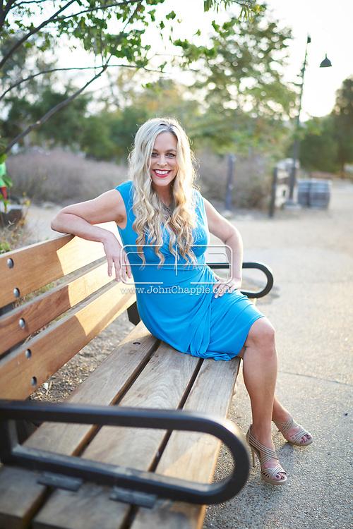 July 16, 2018. San Juan Capistrano, California.  Former G.L.O.W. (Gorgeous Ladies of Wrestling) wrestler, Dawn Maestas, who was played Godiva.<br /> Photo copyright John Chapple / www.JohnChapple.com