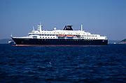 MV Minerva cruise ship Swan Hellenic holiday cruises at Izmir, Turkey in 1997