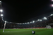 a General view of inside the Emirates Stadium before k/o. UEFA Champions league group A match, Arsenal v Paris Saint Germain at the Emirates Stadium in London on Wednesday 23rd November 2016.<br /> pic by John Patrick Fletcher, Andrew Orchard sports photography.