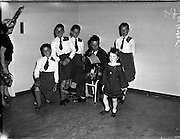 Gael Linn singing competition and concert at Galway .21/06/1959 .