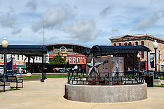 Clinton Illinois Royalty Free Stock Images