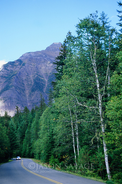Going to the Sun Highway, Glacier National Park.