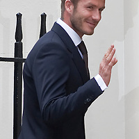 London April 20 David Beckham, Andy  Murray and Denise Lewis join Prime Minister Gordon Brown  an n10 Downing Street to mark the launch  of the new charity Malaria No More UK...***Standard Licence  Fee's Apply To All Image Use***.Marco Secchi /Xianpix. tel +44 (0) 845 050 6211. e-mail ms@msecchi.com or sales@xianpix.com.www.marcosecchi.com