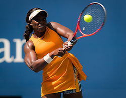 August 29, 2018 - Sloane Stephens of the United States in action during her second-round match at the 2018 US Open Grand Slam tennis tournament. New York, USA. August 29th 2018. (Credit Image: © AFP7 via ZUMA Wire)