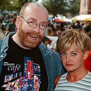 Uitmarkt 1999 Weekendcafe, Jacques Goderie en Vera Mann