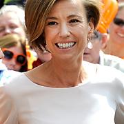 Koningsdag 2014 in Amstelveen, het vieren van de verjaardag van de koning. / Kingsday 2014 in Amstelveen, celebrating the birthday of the King. <br /> <br /> <br /> Op de foto / On the photo: Prinses Marilene / Princess Marilene