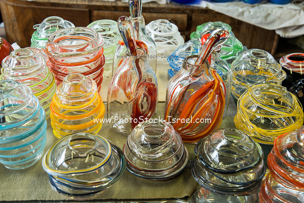Handmade glass vases
