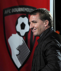 Liverpool Manager, Brendan Rodgers - Photo mandatory by-line: Paul Knight/JMP - Mobile: 07966 386802 - 17/12/2014 - SPORT - Football - Bournemouth - Goldsands Stadium - AFC Bournemouth v Liverpool - Capital One Cup