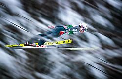 16.12.2017, Gross Titlis Schanze, Engelberg, SUI, FIS Weltcup Ski Sprung, Engelberg, im Bild Anders Fannemel (NOR) // Anders Fannemel of Norway during Mens FIS Skijumping World Cup at the Gross Titlis Schanze in Engelberg, Switzerland on 2017/12/16. EXPA Pictures © 2017, PhotoCredit: EXPA/JFK