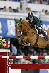 Babington Kevin, (IRL), Carling King<br /> World Equestrian Games Jerez de la Fronteira 2002<br /> Photo © Dirk Caremans