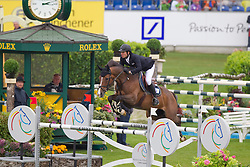 Guerdat Steve (SUI) - Jalisca Solier<br /> World Equestrian Festival, CHIO Aachen 2011<br /> © Dirk Caremans