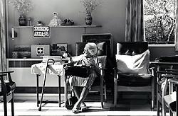 Residential care for the elderly, Nottingham UK 1991