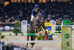 Hazebroek Maxime, BEL, Diago B vh Aegroschot<br /> Jumping Mechelen 2019<br /> © FEI/Dirk Caremans<br />  30/12/2019