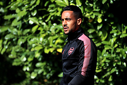 Arsena's Theo Walcott during the training session at London Colney.