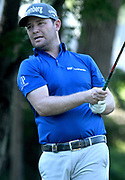 ST. LOUIS, MO - AUGUST 09: Branden Grace hits his shot on the #11 tee during the first round of the PGA Championship on August 09, 2018, at Bellerive Country Club, St. Louis, MO.  (Photo by Keith Gillett/Icon Sportswire)