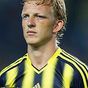 Fenerbahce's Dirk Kuijt during the UEFA Champions League Play-Offs First leg soccer match Fenerbahce between Arsenal at Sukru Saracaoglu stadium in Istanbul Turkey on Wednesday 21 August 2013. Photo by Aykut AKICI/TURKPIX