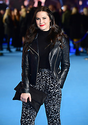 Kat Shoob attending the Aquaman premiere held at Cineworld in Leicester Square, London.