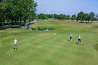 BRIELLE -  Hole 7. Kleiburg , golfbaan.  COPYRIGHT KOEN SUYK