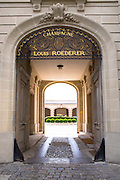 The house of Champagne Louis Roederer in Boulevard Lundy in Reims, Champagne-Ardenne, France