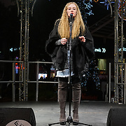 I was walk pass Stratford City Westfield and i heard an Angel voice Chelsea Brown preforms on stage can't help myself to take a few picture before is go 26th November 2016 at Stratford City Westfield bandstand 26th November 2016,London,UK