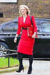 © Licensed to London News Pictures. 26/03/2019. London, UK. Liz Truss - Chief Secretary to the Treasury arrives in Downing Street for the weekly Cabinet meeting. Photo credit: Dinendra Haria/LNP