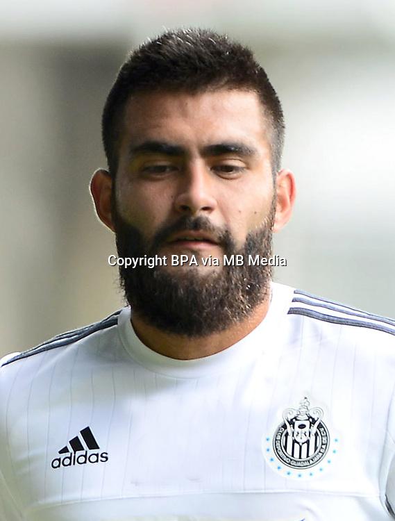 Mexico League - BBVA Bancomer MX 2015-2016 - <br /> Chivas - Club Deportivo Guadalajara / Mexico - <br /> Juan Miguel Basulto Medina