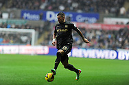 Manchester city's Aleksandar Kolorov in action. Barclays Premier league, Swansea city v Manchester City at the Liberty Stadium in Swansea,  South Wales on  New years day Wed 1st Jan 2014 <br /> pic by Andrew Orchard, Andrew Orchard sports photography.