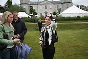 LADY ALEXANDRA GORDON-LENNOX  AND  DANNI MINOGUE , Cartier Style et Luxe lunch. Goodwood.  24 June 2007.  -DO NOT ARCHIVE-© Copyright Photograph by Dafydd Jones. 248 Clapham Rd. London SW9 0PZ. Tel 0207 820 0771. www.dafjones.com.