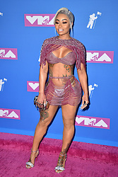 Blac Chyna attends the 2018 MTV Video Music Awards at Radio City Music Hall on August 20, 2018 in New York City, NY, USA. Photo by Lionel Hahn/ABACAPRESS.COM