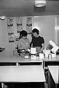 Scolarship Girls at the Irish Countrywomen's Association College, Termonfeckin, County Louth..02.03.1967 Ranks Wholemeal Flour Bread Making