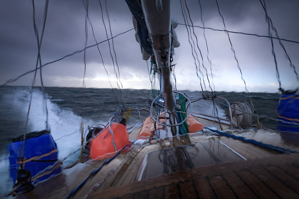 Sailing through the Stormy seas in South Atlntic Ocean