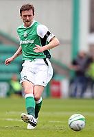 Football - Scottish Premier League - Hibs vs Rangers<br /> <br /> <br /> Rangers win 2009 - 2010 SPL<br /> <br /> Hibs Kevin McBride