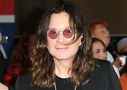 Ozzy Osbourne, Pride of Britain Awards, Grosvenor House Hotel, London UK. 28 September, Photo by Richard Goldschmidt /LNP © London News Pictures