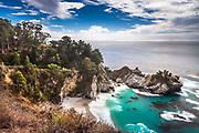 McWay Falls along the Big Sur Coast, Highway 1, California