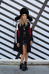 Chiara Ferragni attending the Louis Vuitton's Spring-Summer 2016/2017 Ready-To-Wear collection show in Paris, France, on October 5, 2016. Photo by Nicolas Genin/ABACAPRESS.COM