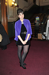 Gizzi Erskine at the opening night of Totem by Cirque du Soleil held at The Royal Albert Hall, London on 5th January 2011.