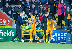 Livingston Lee Miller goes off  injured. Livingston 1 v 2 Aberdeen, SPFL Ladbrokes Premiership played 29/1/2018 at Livingston home ground, Tony Macaroni Arena.