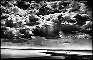 Thorney Bay Beach, Canvey Island, England - May 2021