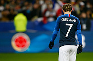 France's Antoine Griezmann during the International Friendly Game football match between France and Colombia on march 23, 2018 at Stade de France in Saint-Denis, France - Photo Geoffroy Van Der Hasselt / ProSportsImages / DPPI