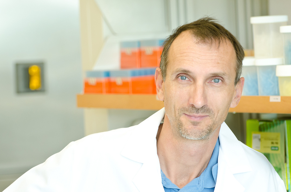 Researcher Volker Mai at the University of Florida.